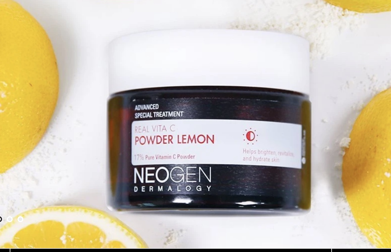 Real Vita C Powder Lemon by NEOGEN