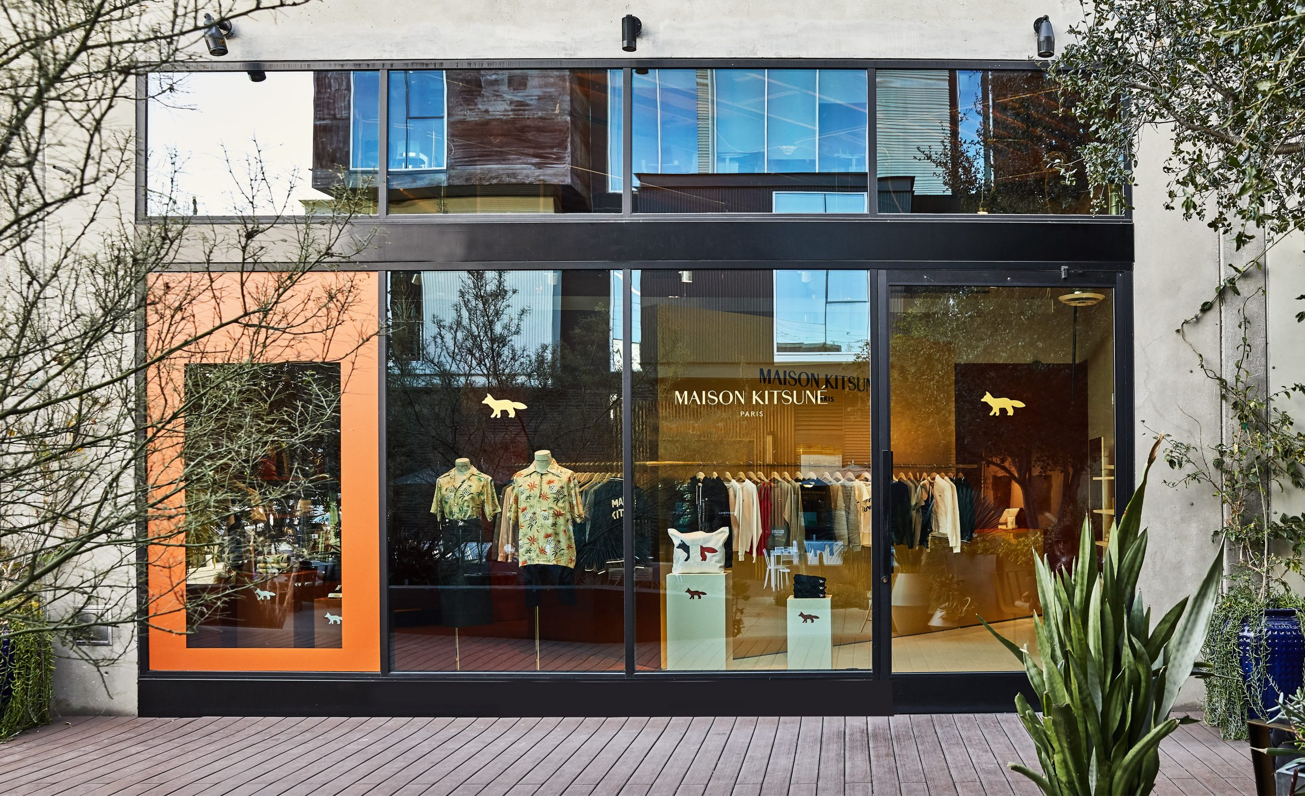 Maison Kitsuné first pop-up in Los Angeles