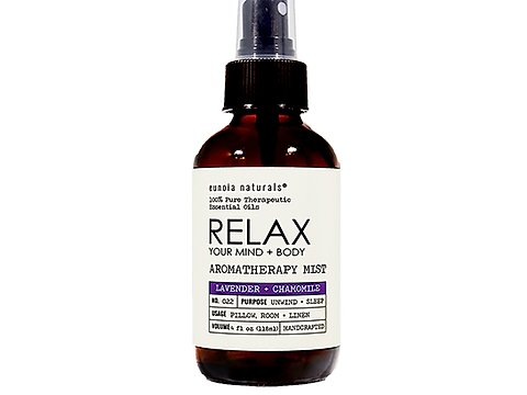 Eunoia Naturals Relax Lavender Pillow Spray Mist is Fabulous