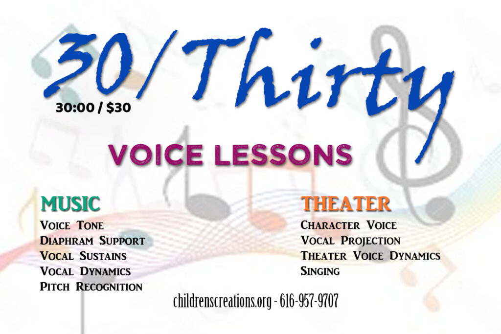 30 for $30 - Voice Lessons