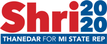 Shri Thanedar For Michigan Logo