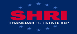 Shri Thanedar for Michigan Logo