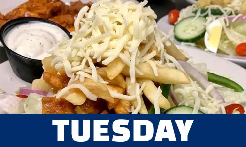 Tuesday special - chicken salad