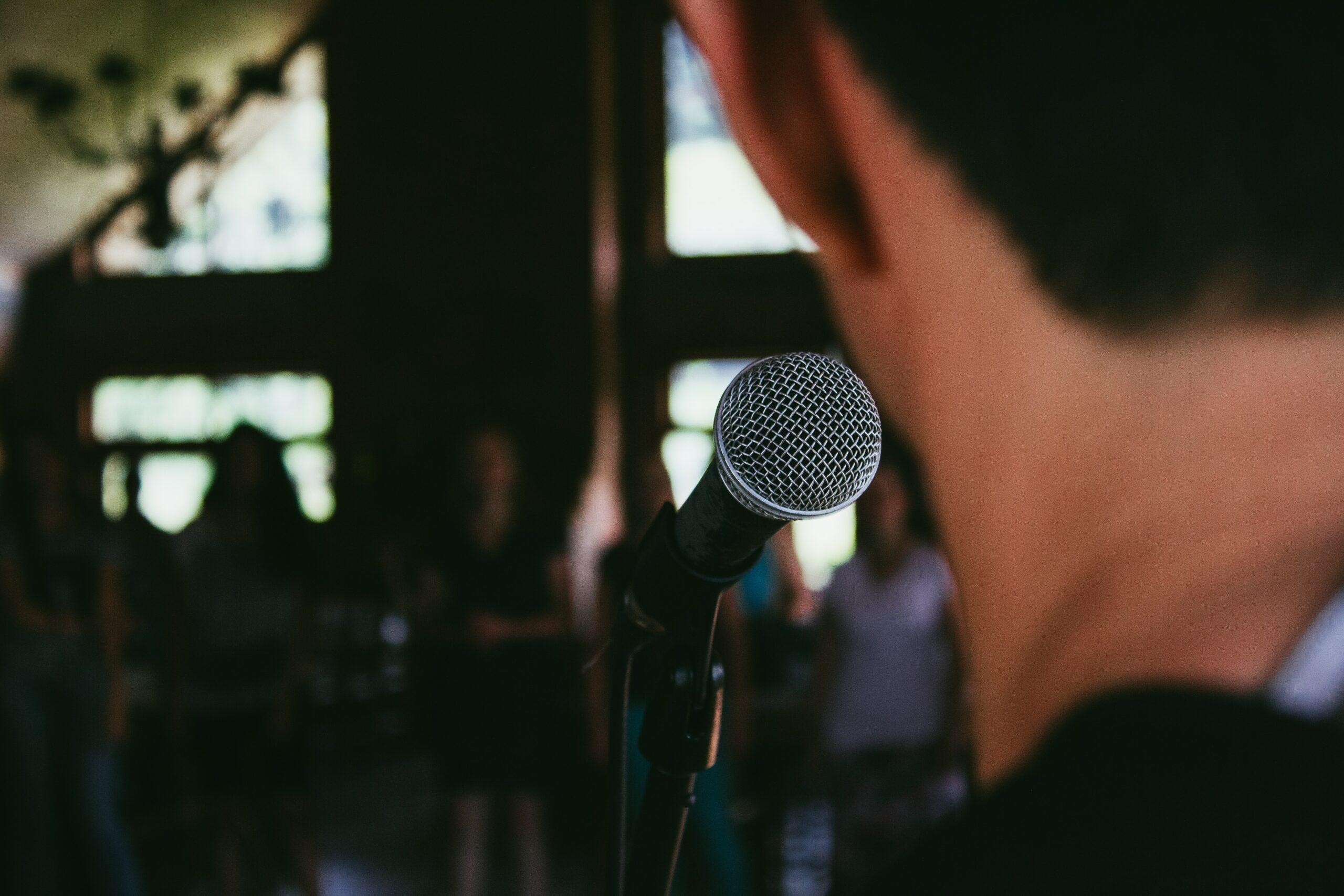 stock microphone