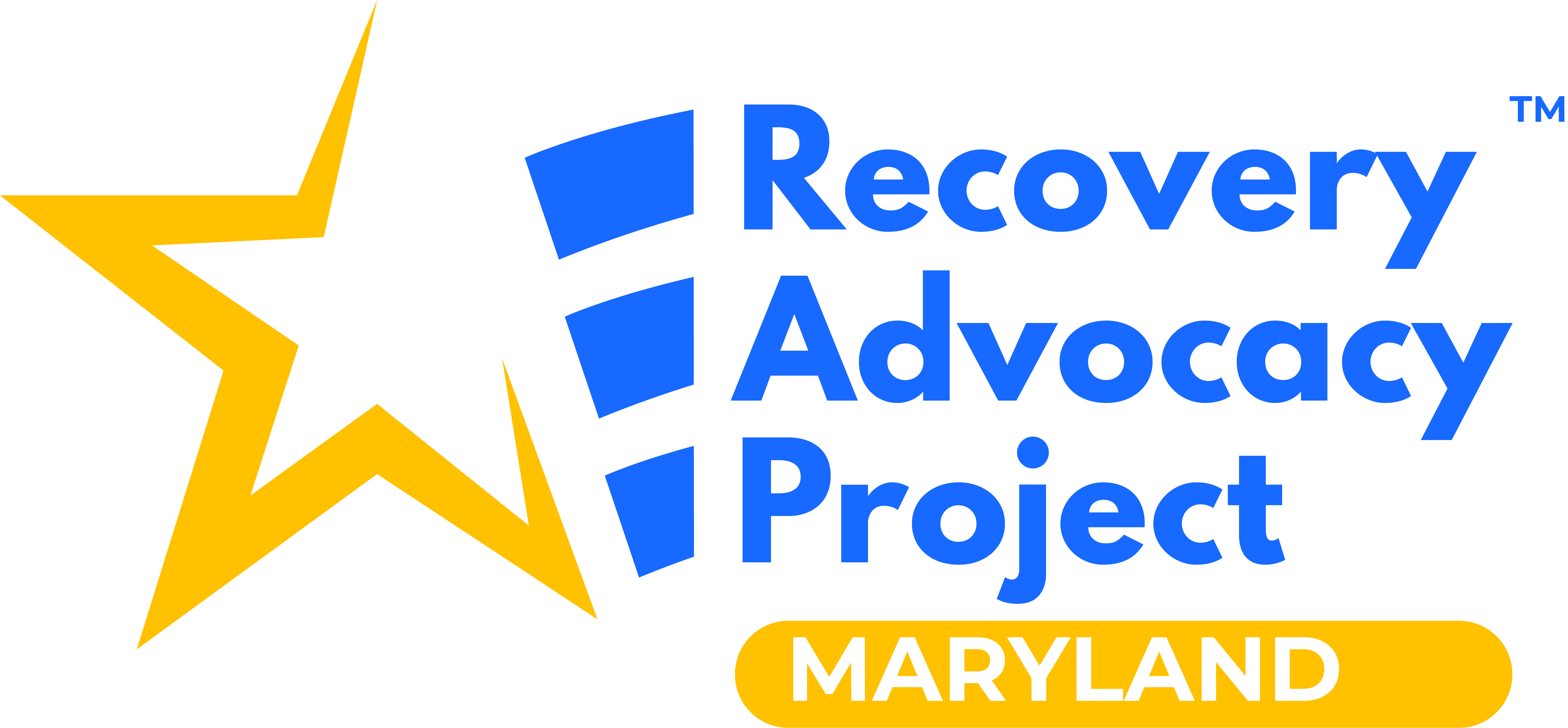 Recovery Advocacy Project Logo for Maryland