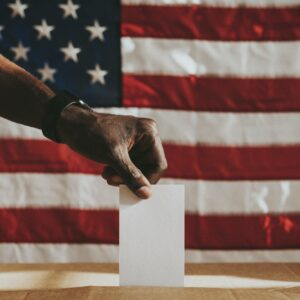 American democracy voting poll