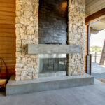 burt outdoor fireplace