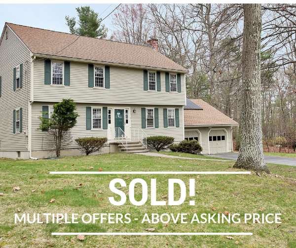 Westford Home Sold Above Asking Price
