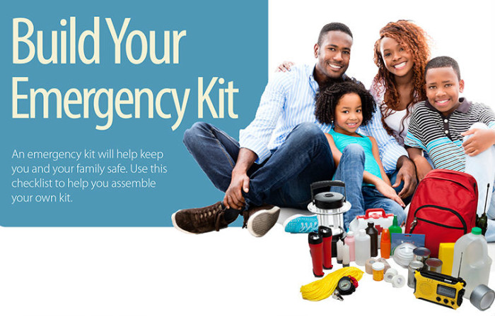 Home Tip - Build Your Emergency Kit