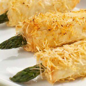 Fox River Dairy Kabobs crispy asparagus