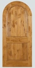 A Knotty Alder Rustic Western Doors