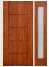 Contemporary Entryways & Doors