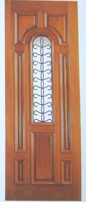 Wrought Iron Insulated Doors