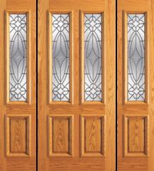 Beveled Glass Doors
