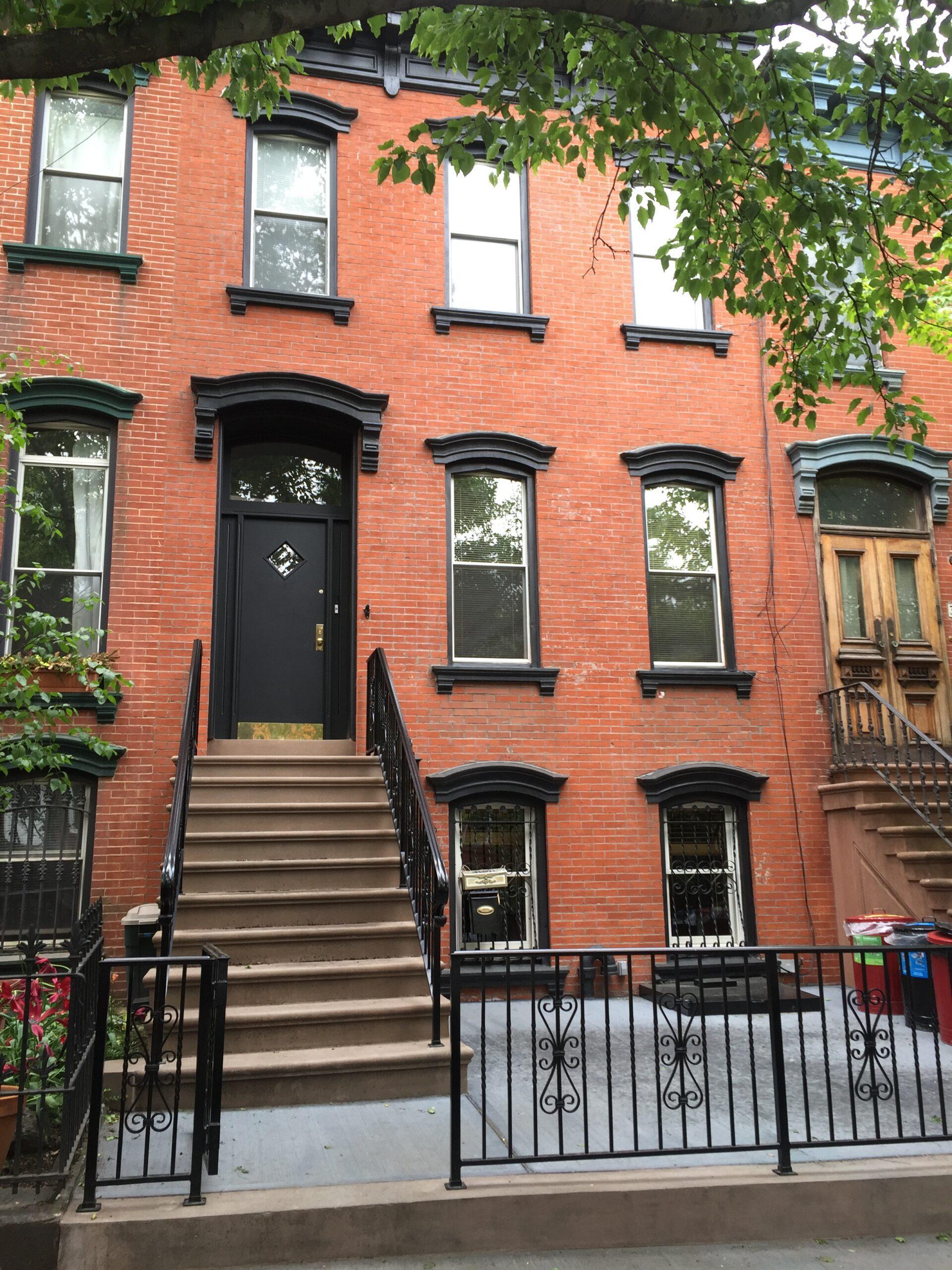 388 10th St- Park Slope Brooklyn- Brownstone Step Restoration