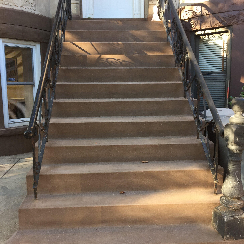 545 72nd St – Bay Ridge Brooklyn – Brownstone Stoop Restoration