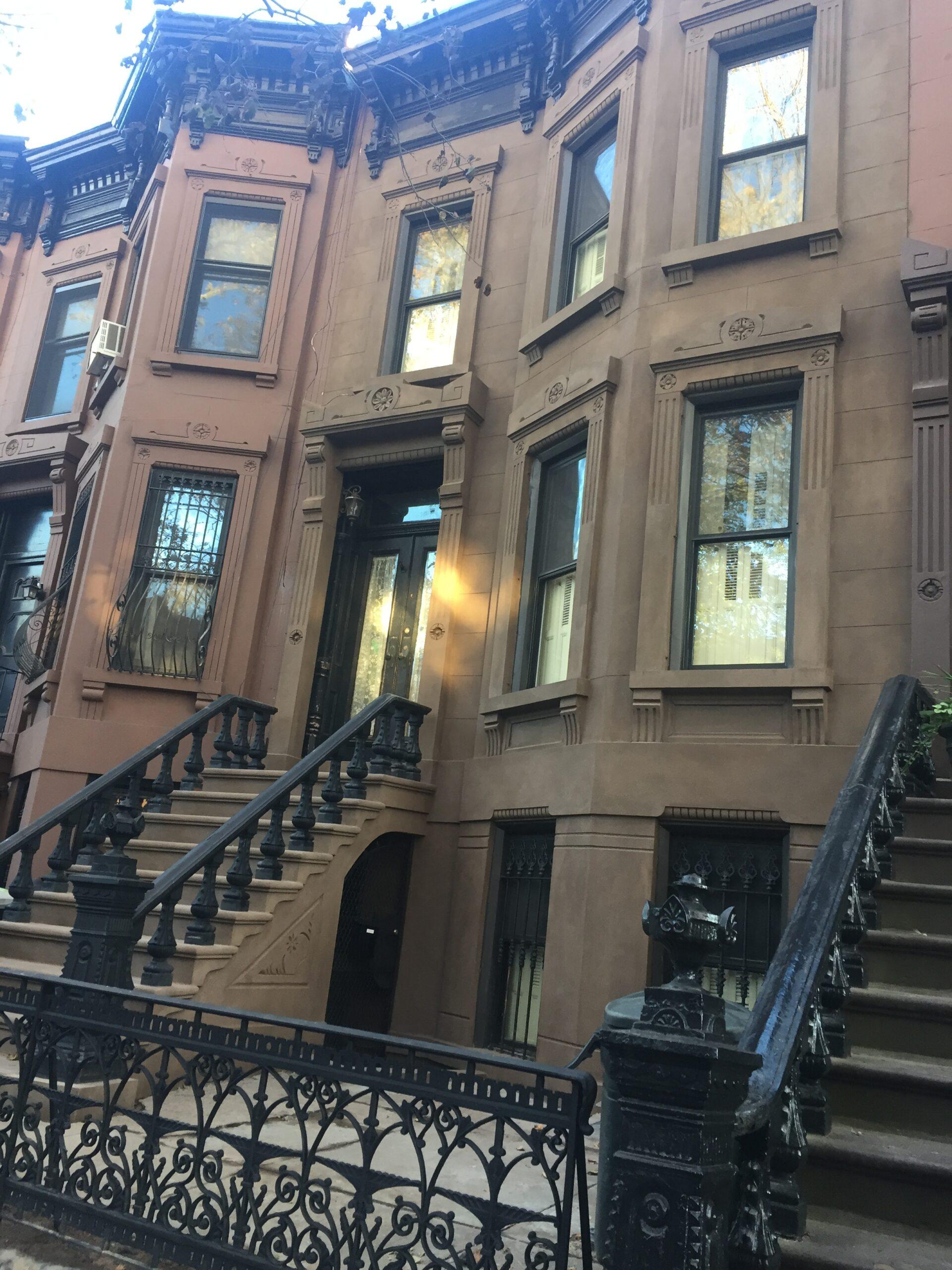 474 10th Street- Park Slope Brooklyn- Brownstone Facade Restoration