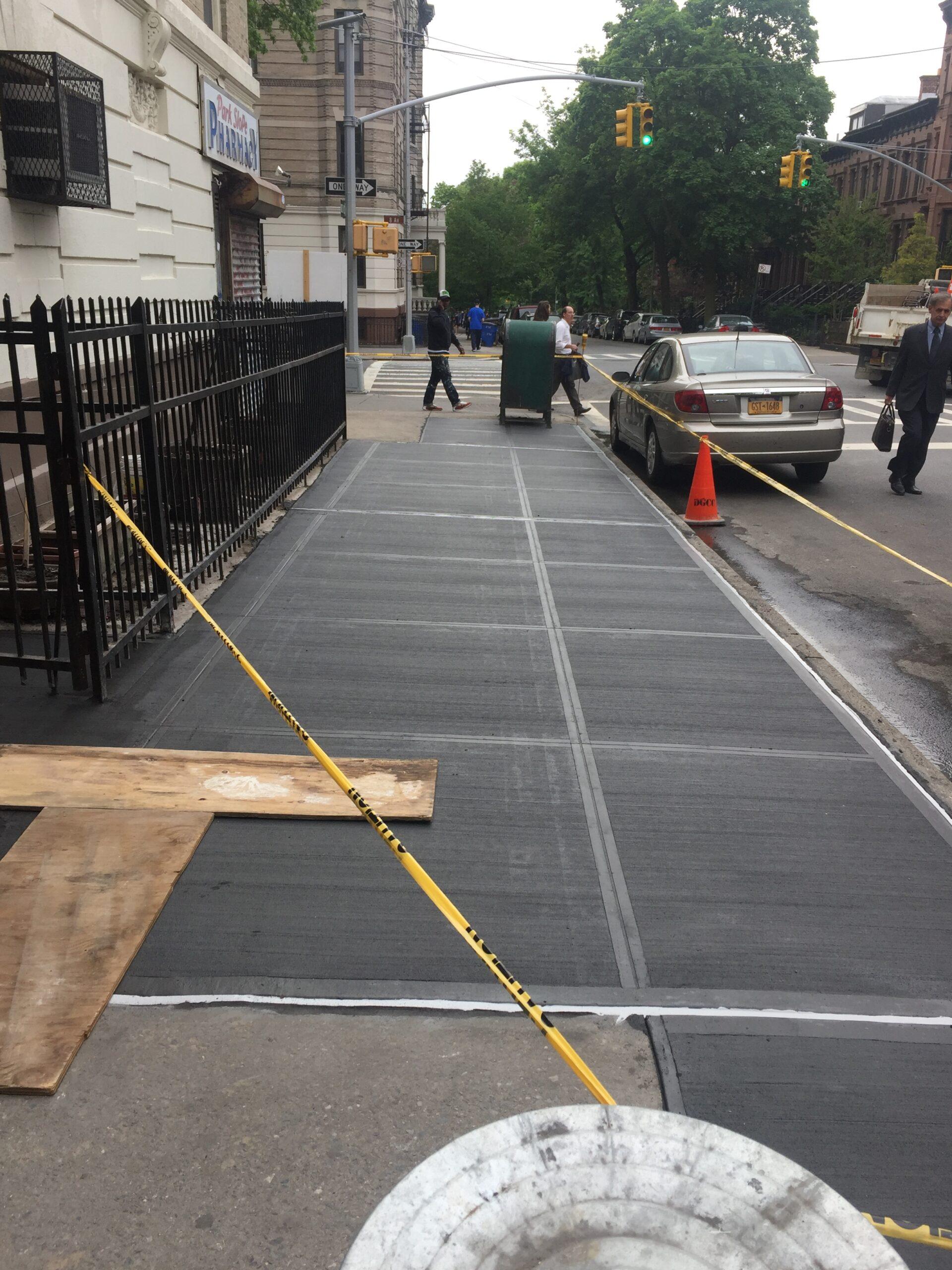 484 8th Street – Park Slope Brooklyn – Sidewalk Restoration