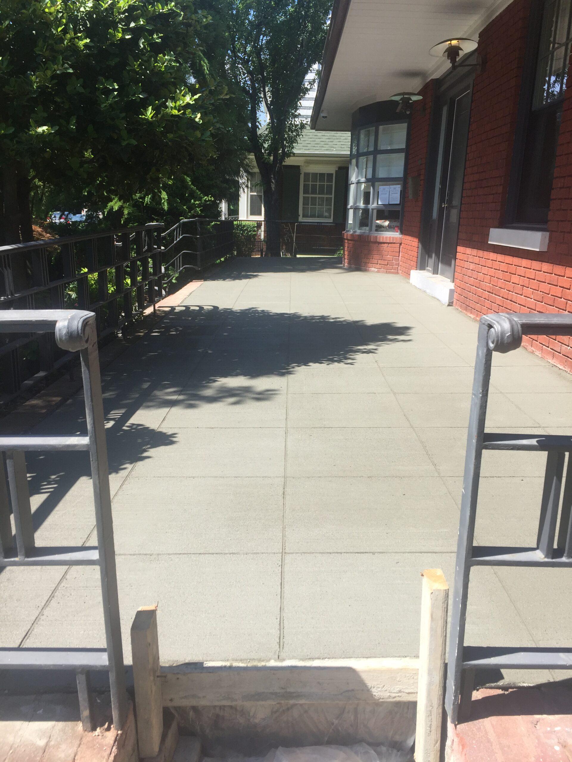 145 Argyle Rd- Prospect Park South Brooklyn- Sidewalk Renovation