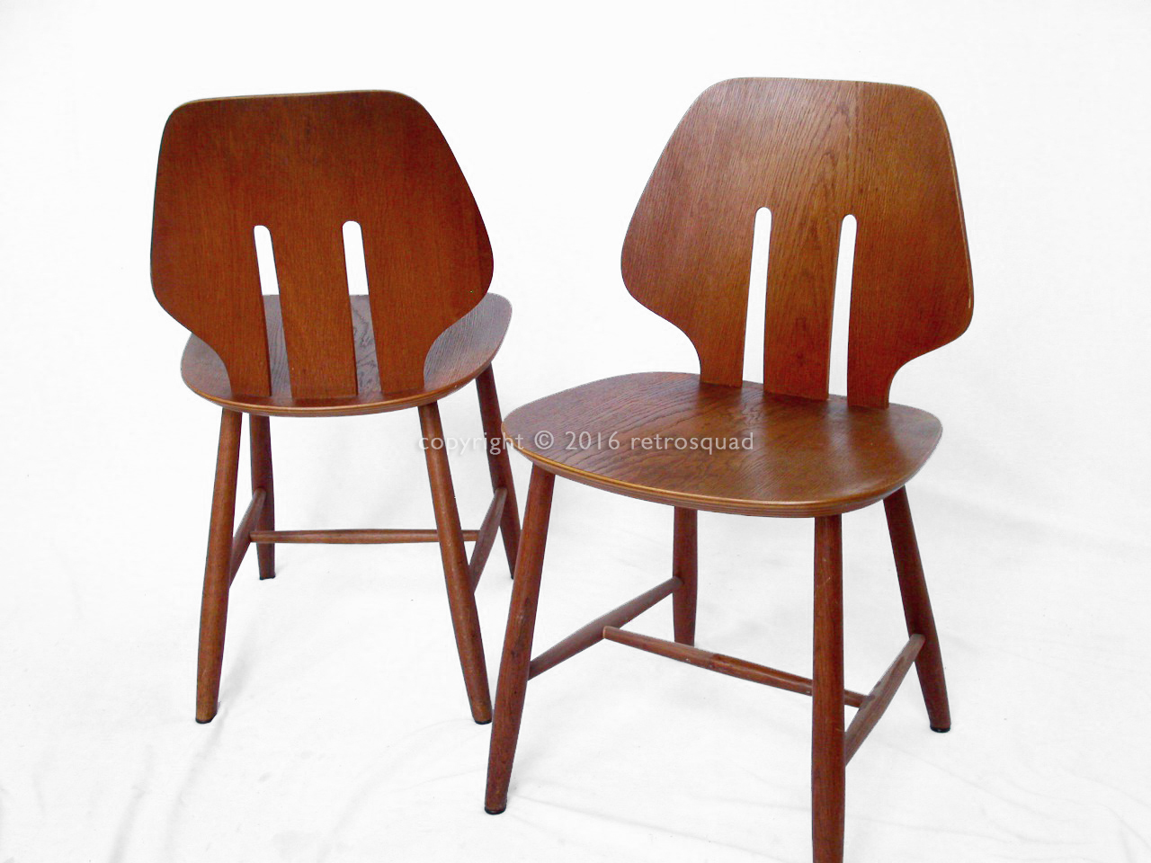 6 Modern Dining Chairs By Ejvind A. Johanss For FDB Mobler Vintage 1960 10