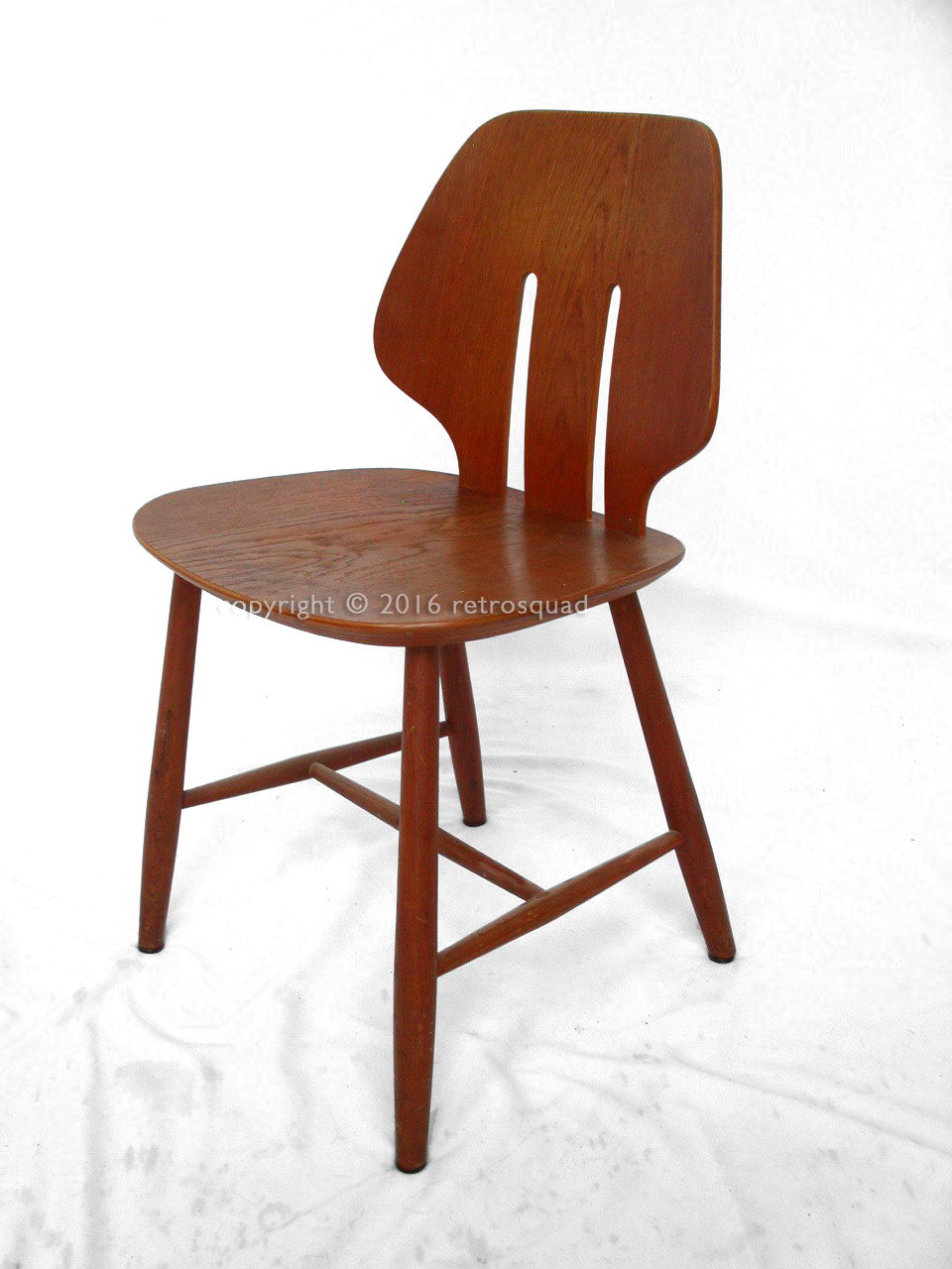 6 Modern Dining Chairs By Ejvind A. Johanss For FDB Mobler Vintage 1960 11