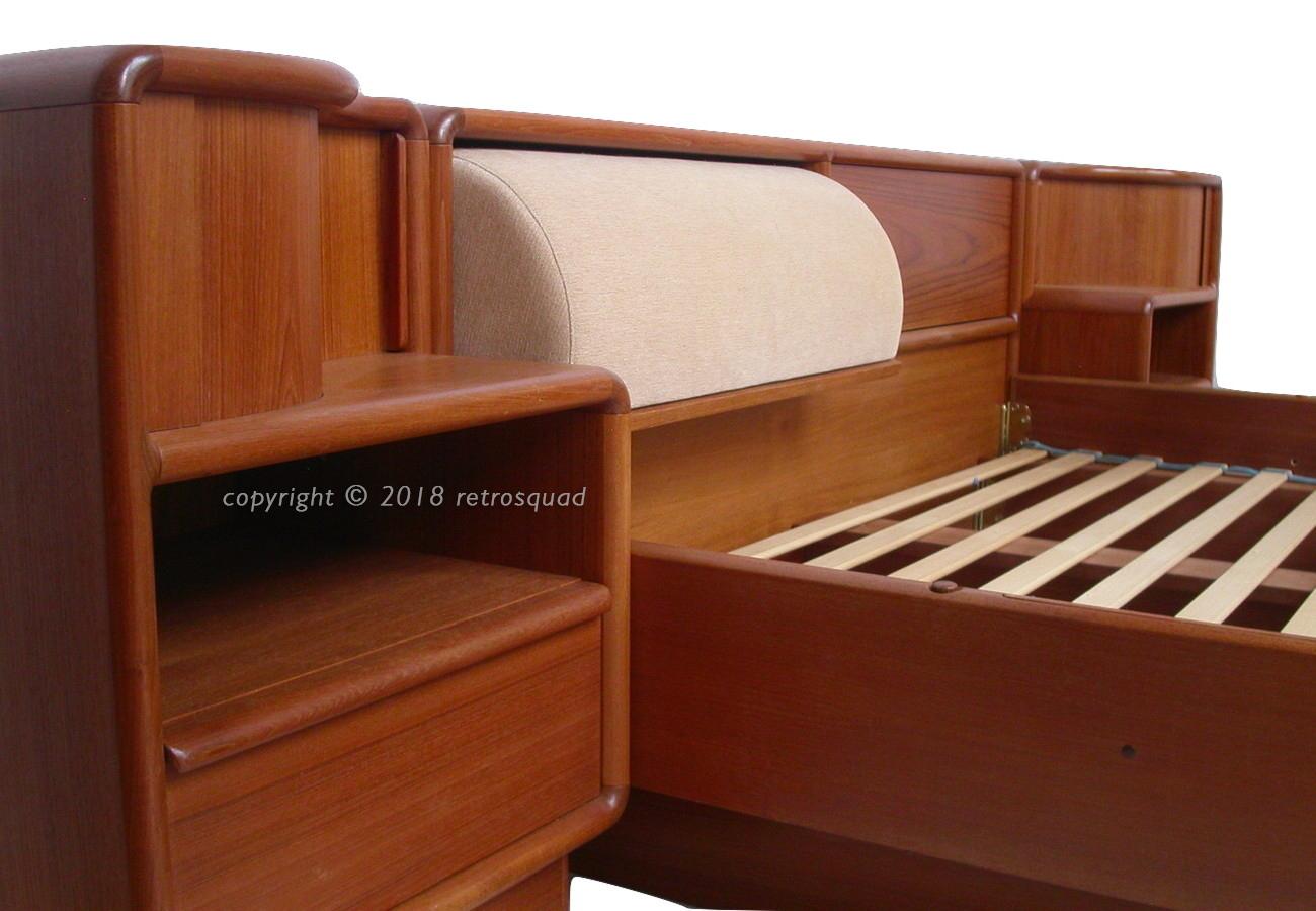 Ultimate Quality Danish Modern King Size Teak Platform Bed By Kibaek Better Than Dyrlund Or Torring Retro Squad