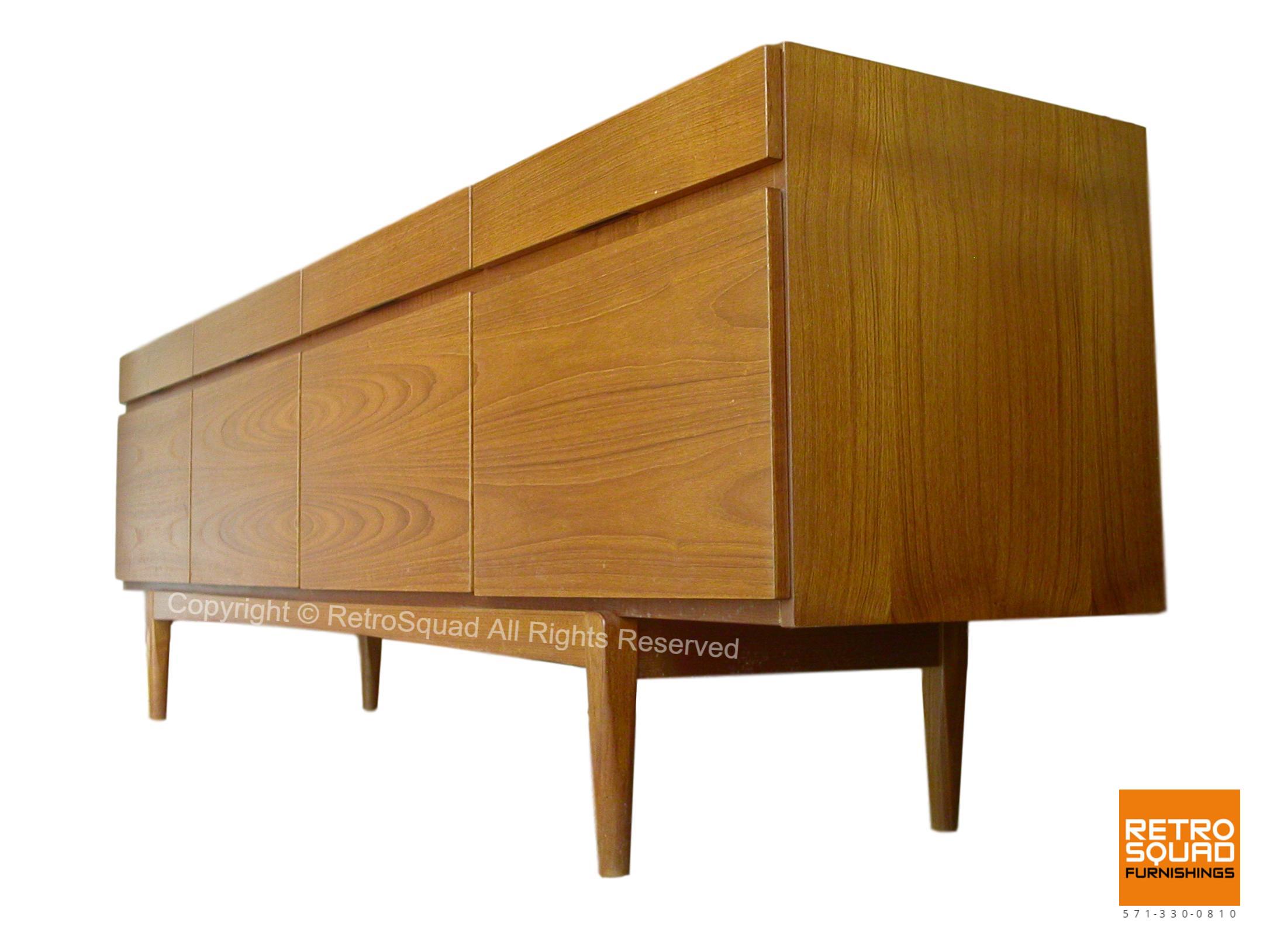 Danish-Modern-Model-66-Teak-Credenza-designed-IB-Kofod-Larsenfor-Faarup-of-Denmark-02