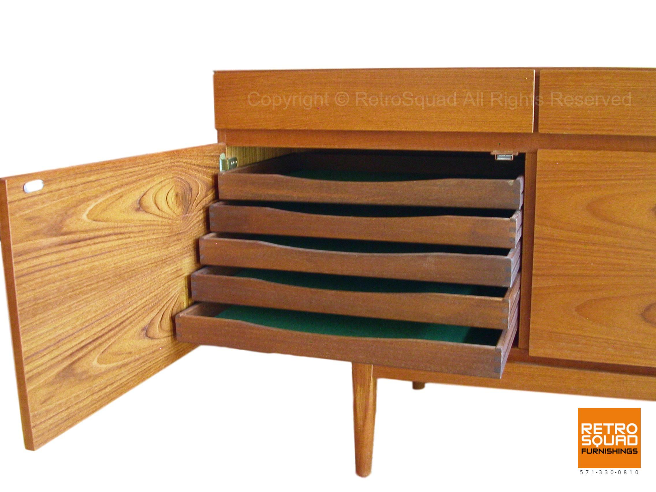 Danish-Modern-Model-66-Teak-Credenza-designed-IB-Kofod-Larsenfor-Faarup-of-Denmark-04