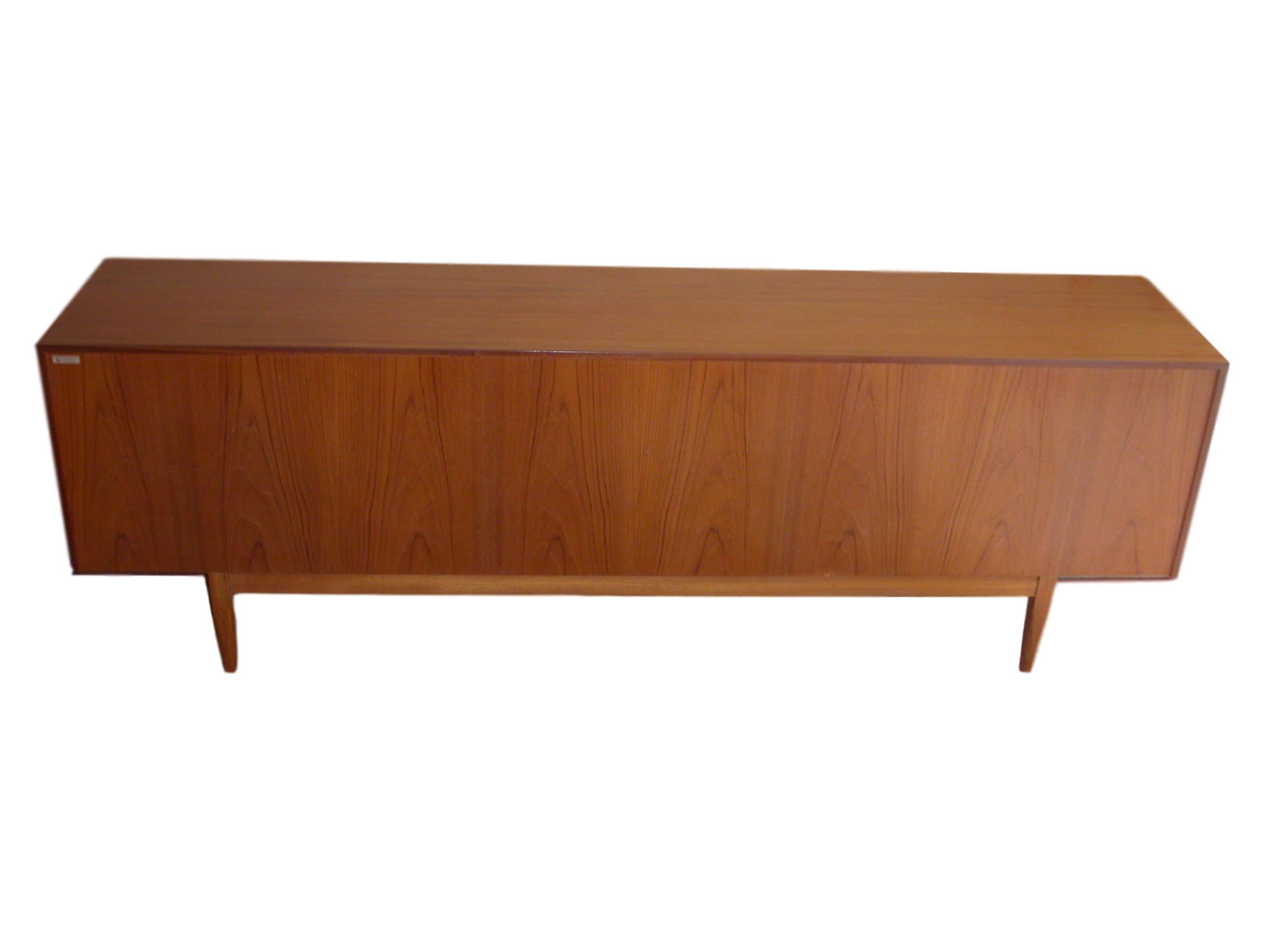 Danish-Modern-Model-66-Teak-Credenza-designed-IB-Kofod-Larsenfor-Faarup-of-Denmark-10