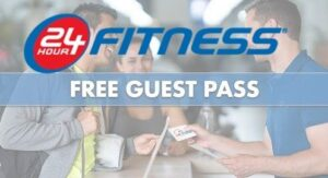 24 hour fitness guest pass