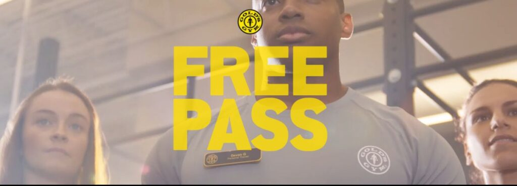 gold's gym guest pass