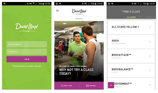 david lloyd app