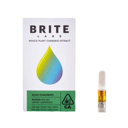 Enjoymint Delivered Brite Labs Silver Strawberry