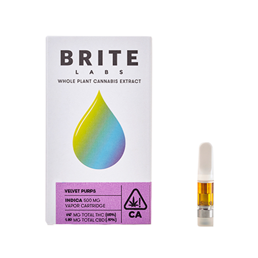 Enjoymint Delivered Brite Labs Velvet Perps