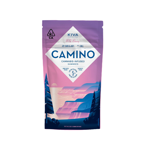 Enjoymint Delivered Camino Gummies Wild Berry