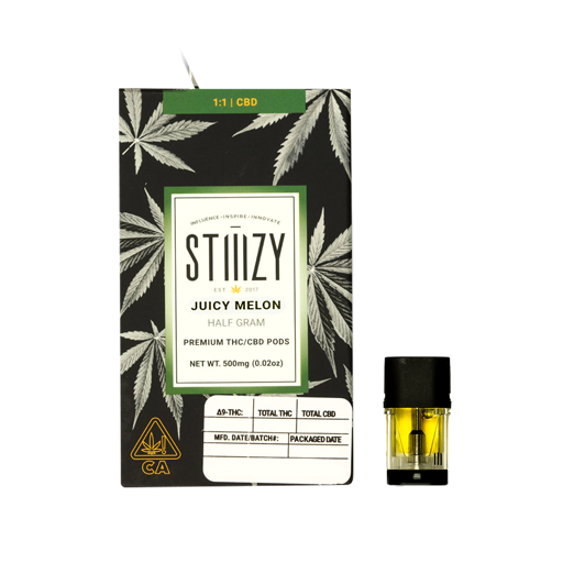 Enjoymint Delivered Stiiizy Pods Juicy Melon