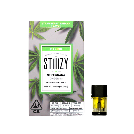 Enjoymint Delivered Stiiizy Pods Strawnana