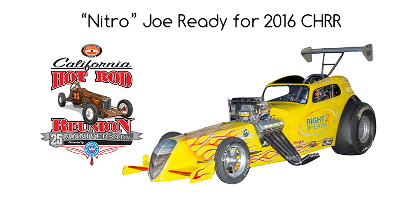 Joe Morrison Set to Pull Driving Double-Duty at The California Hot Rod Reunion