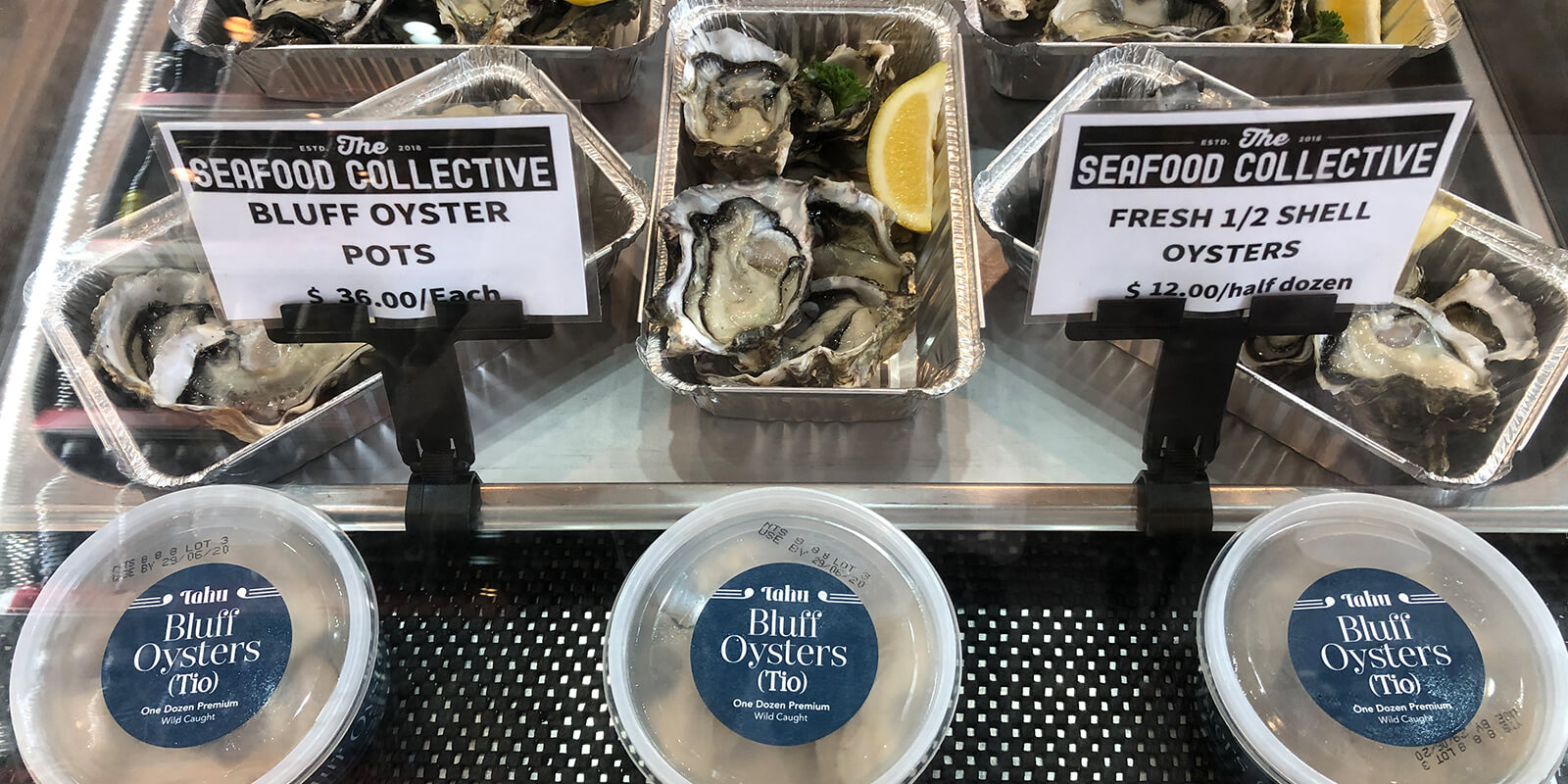 Difference between Bluff & Pacific Oysters