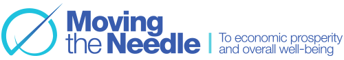 Moving the Needle logo, non profit organization, financial stability, Finance coaching services, income inequality, American Dream, equality of opportunity, financial inclusion, inclusive economic growth, economic mobility, opportunity, financial well-being, standard of living, impact, collective impact, miami florida