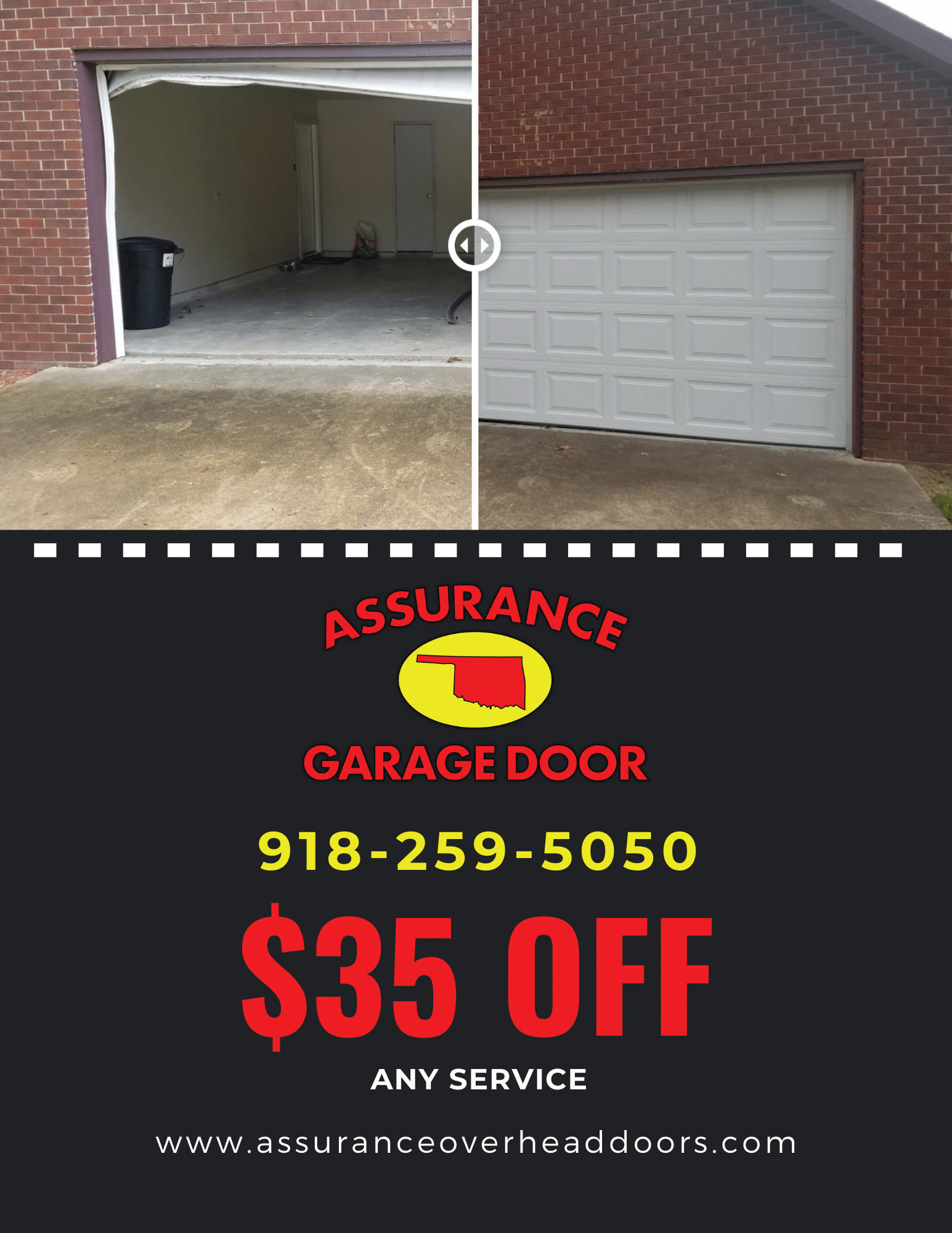 Assurance Garage Door - Coupon