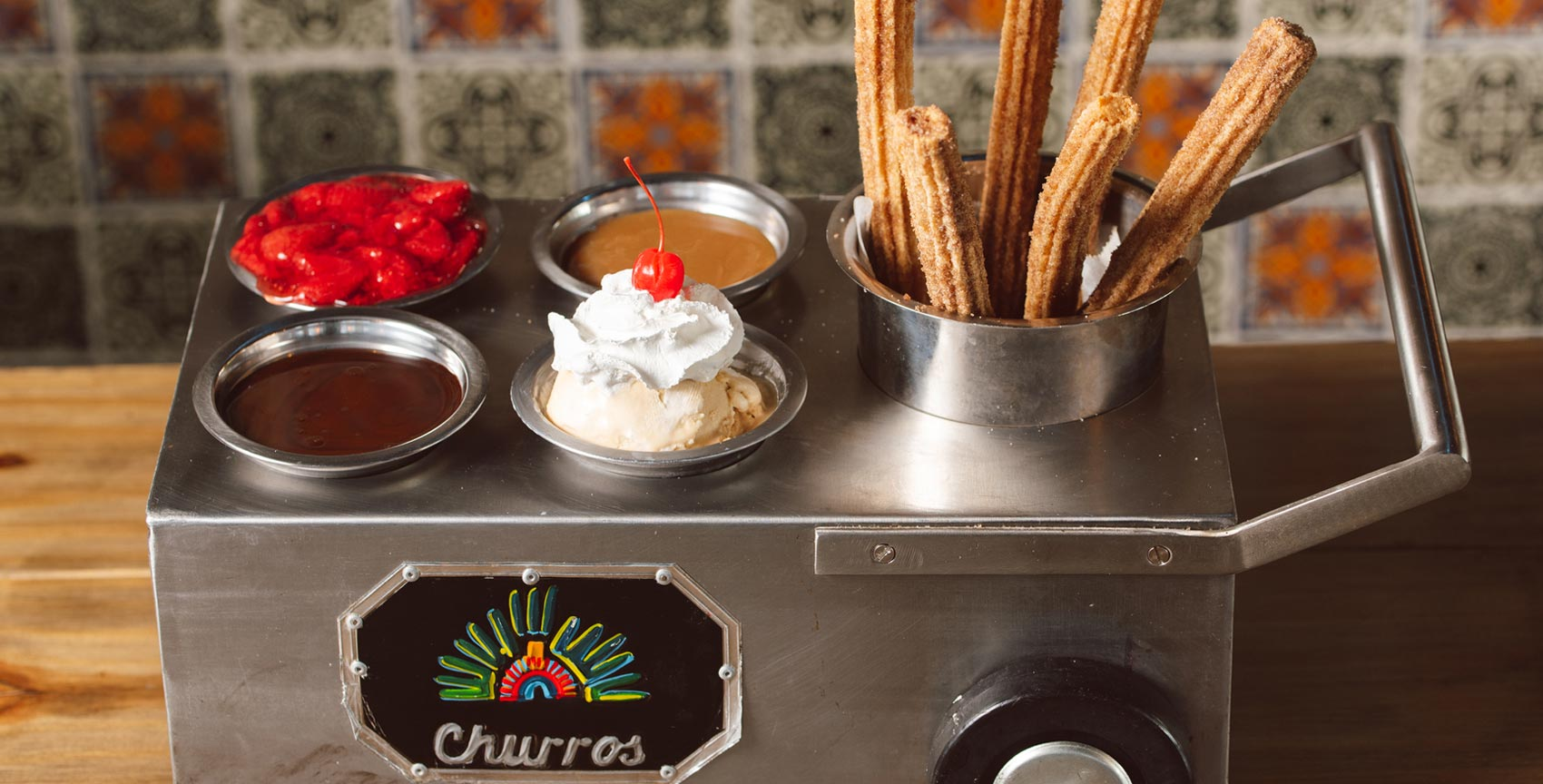Best cuisine grand hacienda dessert churros