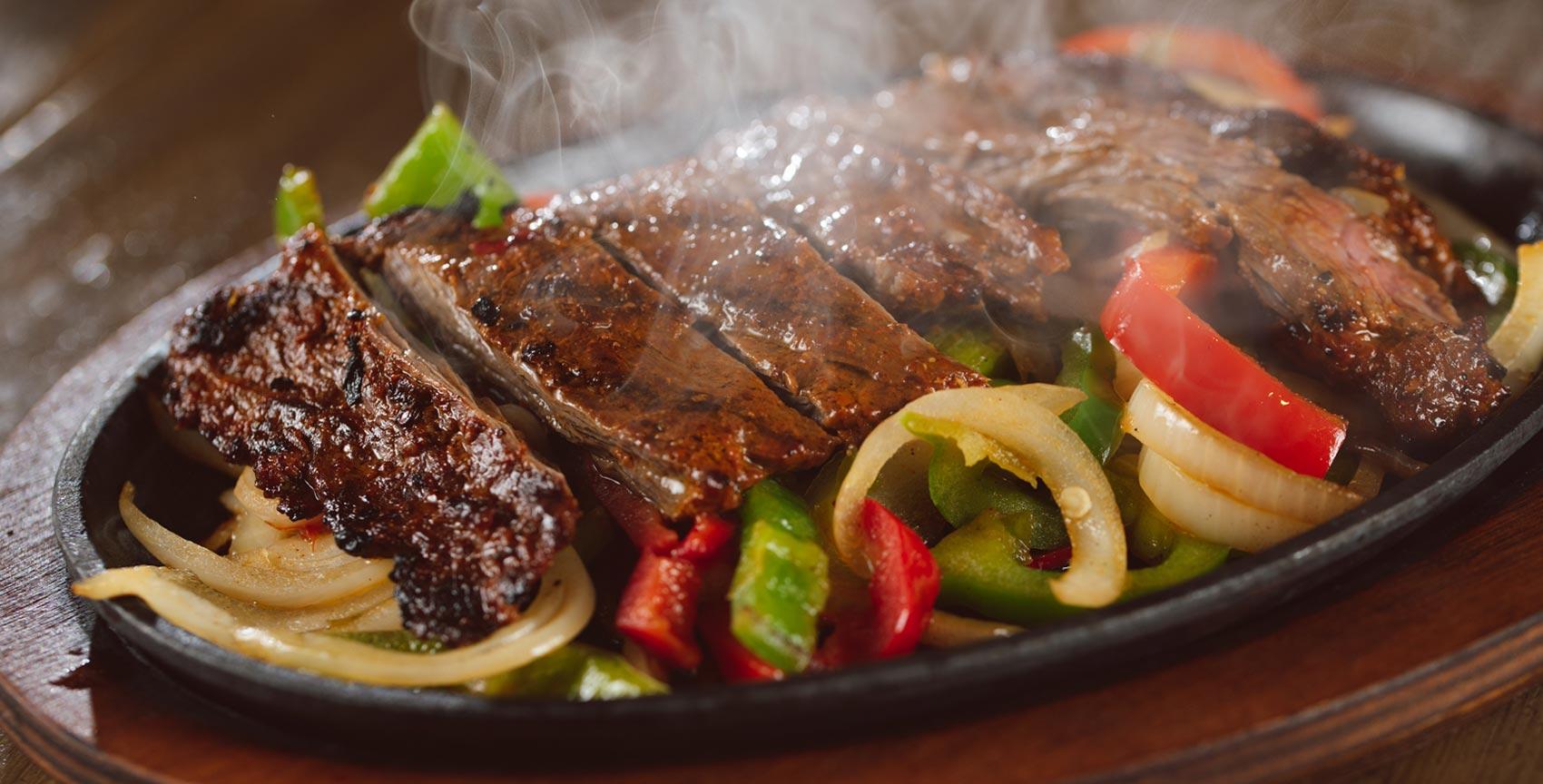 Best cuisine grand hacienda fajitas steak