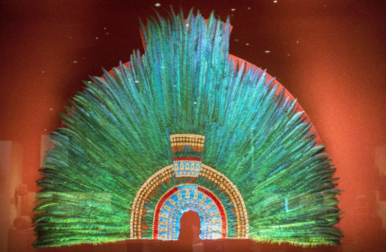 our logo grand hacienda aztec head