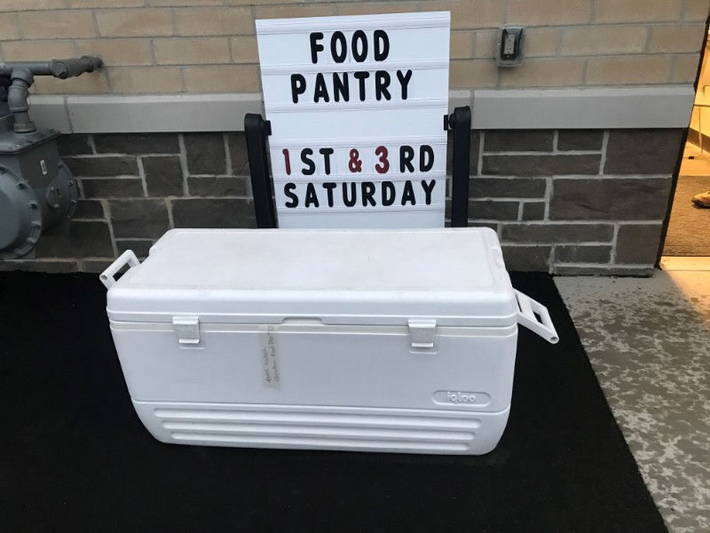 Drop-off-box-for-food-pantry-behind-town-building-11-19