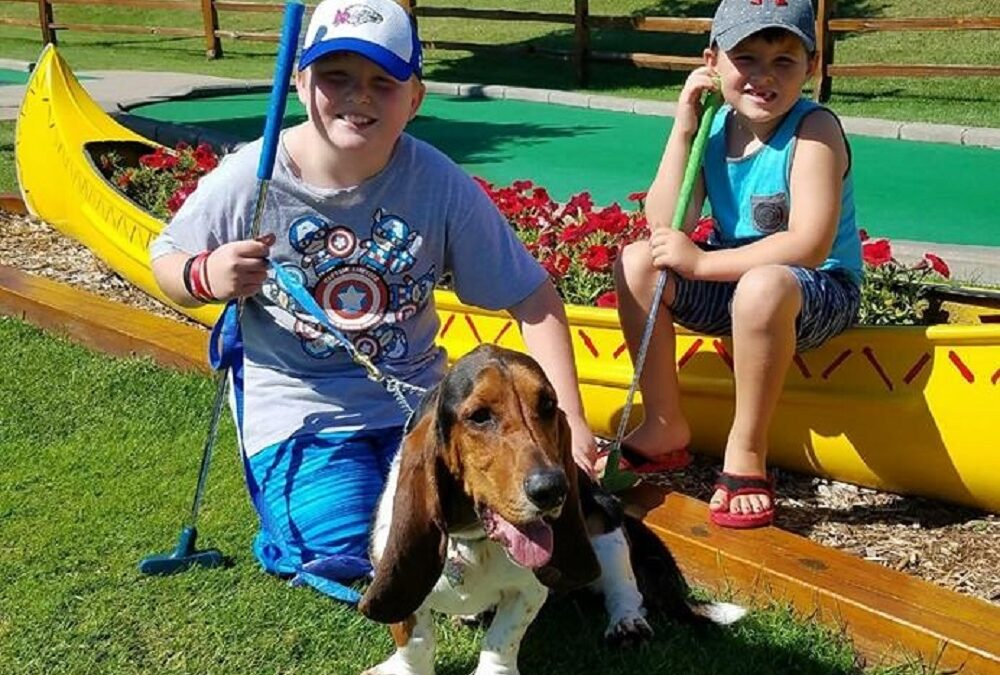 Putts for Mutts- at Eagle Falls Adventure Golf