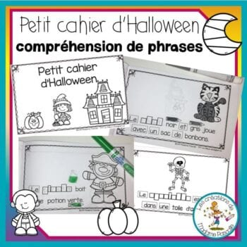 Compréhension de phrases - Halloween