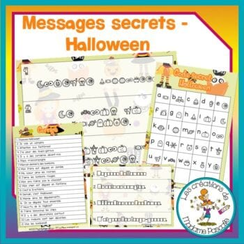 Messages secrets - Halloween