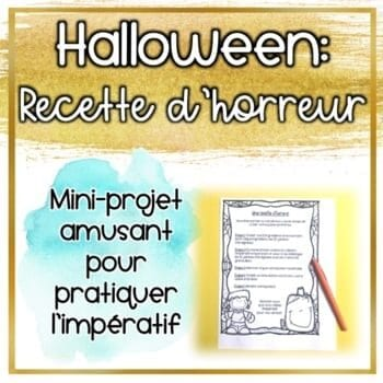 Halloween - recette d'horreur - Fab French