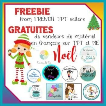 Freebie for Christmas - Gratuité pour Noël